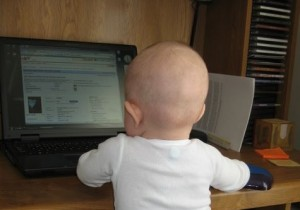 Hacker profesional en acción