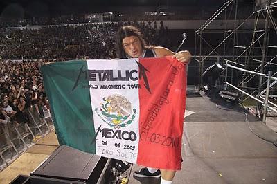 Metallica en Guadalajara.