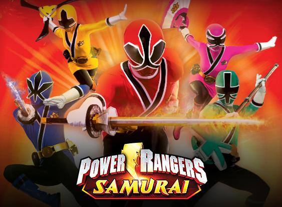 [Series/Tokukatsu] ¡Vean a los Power Ranger Samurai hacer Break Dance!