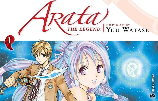 [Anime] Promo de Arata: The Legend.