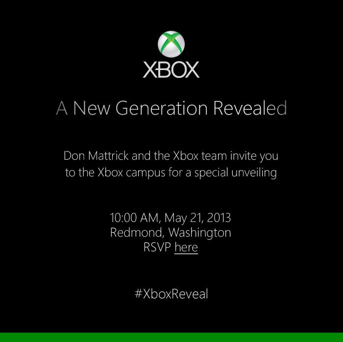[Juegos] El Nuevo XBox se mostrara en Mayo 21