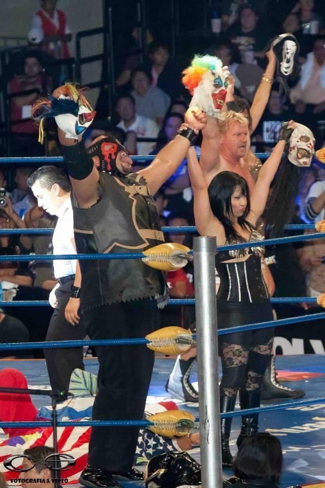 [Deportes] Psycho Clown se desfoga contra los elementos de WWL y TNA