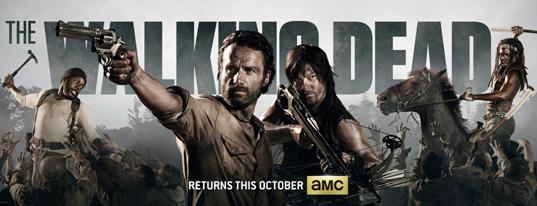 [Television] Primer póster  y primeros detalles de la 4 temporada de The Walking Dead