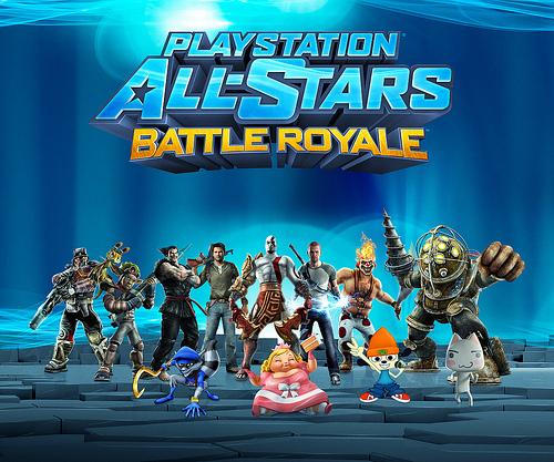 """[Videojuegos] Sony actualizará con trajes gratis """"PlayStation All-Stars Battle Royale"""""""