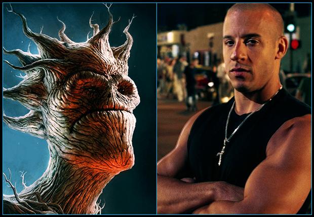[Cine/Comics] Vin Diesel podría ser Groot en Guardianes de la Galaxia.