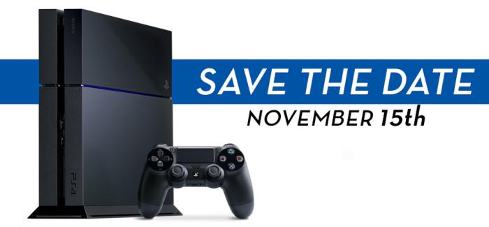[Juegos] PS4 ya con fecha de salida