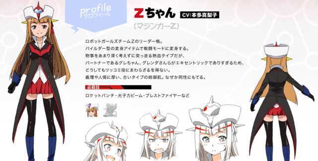 [Anime] Nuevo corto de Toei Robot Girls Z.