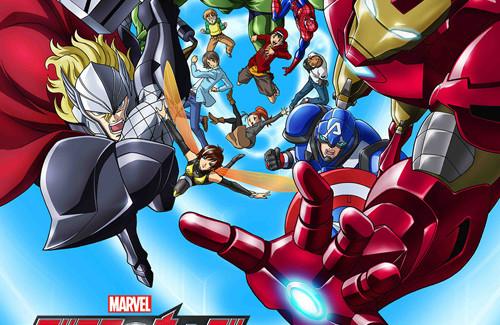 [Anime/Comics] Marvel anuncia anime de Los Vengadores.