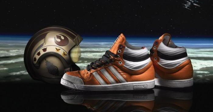 Adidas & Star Wars que la fuerza este en tus pies