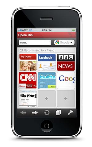 Opera Mini llega a la AppStore