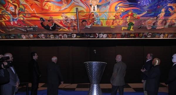 [Deportes] Muestran Mural del CMLL