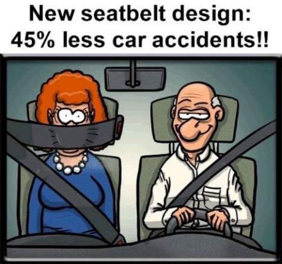 Nuevo cinturón de seguridad