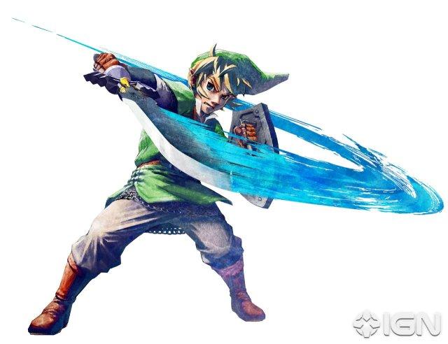 E3 2010 imagenes y video de The Legend of Zelda Skyward Sword