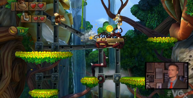[Juegos] Y el personaje secreto de Donkey Kong Country: Tropical Freeze es