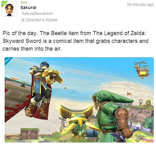 [Juegos] Un nuevo Item para Smash Bros. Para Wii U y 3DS