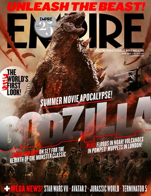 [Cine/Tokusatsu] Y Empire Magazine estrena portada con Godzilla.