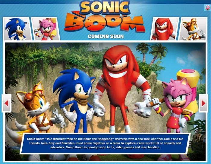 [Caricaturas] Trailer de Sonic Boom