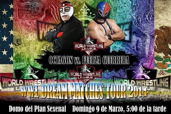 [Deportes] Octagon se enfrentara a Fuerza Guerrera en WWL