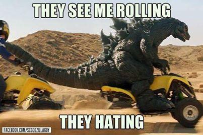 [Cine/¿!Güat¡?] Godzilla es genial, excepto cuando tiene hambre.
