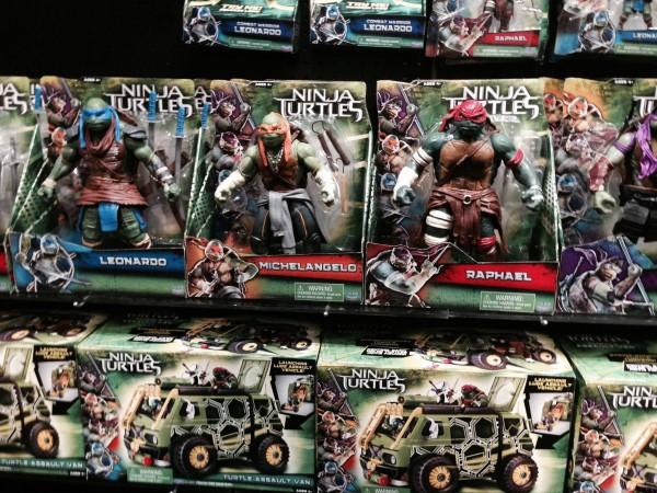 [Cine] Estos son los juguetes de la película de las Tortugas Ninja 2014.