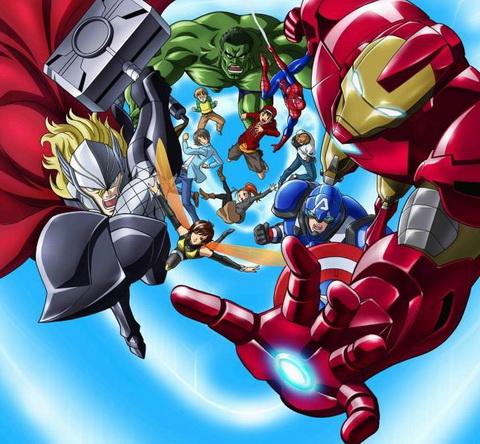 [Anime de la Semana] Disk Wars: The Avengers.