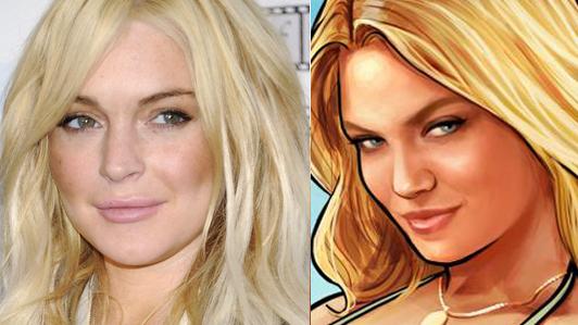 [Juegos/Espectaculo] Lindsay Lohan demanda a los creadores de GTA V