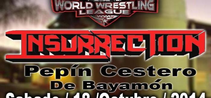 [Deportes] El Magno evento de WWL anunciado: Insurrección.