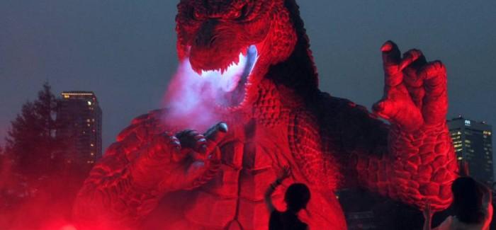 [Cine/Japonadas] Godzilla en el Tokyo Garden.