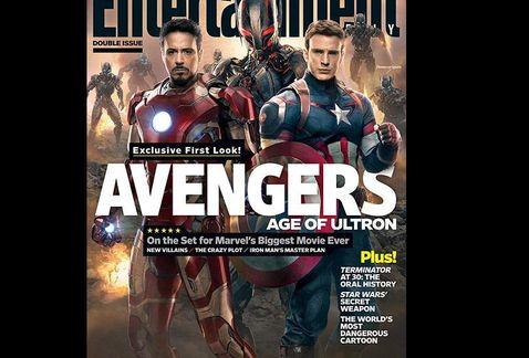 [Cine/Comics] Nuevas imágenes de The Avengers: Age of Ultron. (Y Wolverine en Disk wars The Avengers)