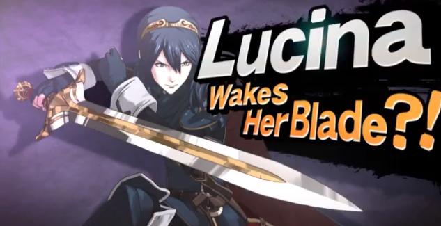 [Juegos] Lucina y Robin (Hombre y mujer) Nuevos personajes de Smash!