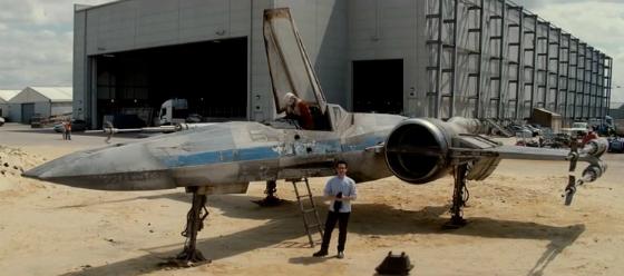 [Cine] Nuevo video de Star Wars: Episodio VII muestra X-Wing.