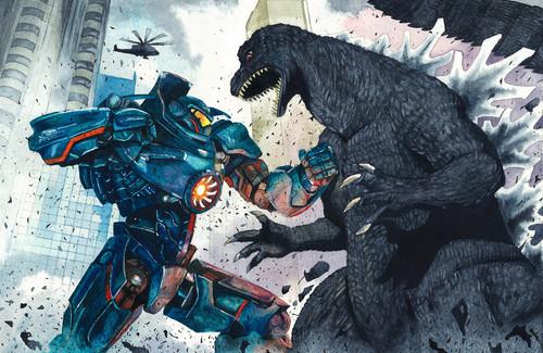 [Cine/Juegos] Regresarán los monstruos de Pacific Rim Y Godzilla tiene nuevo videojuego.