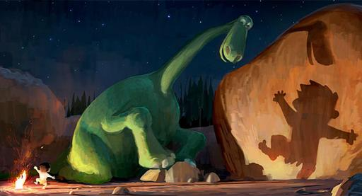 "[Cine] Pixar cambia ""The Good Dinosaur"" de pies a cabeza."