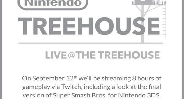 [Juegos] Nuevo Nintendo Treehouse anunciado para el Viernes!