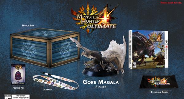 [Juegos] Edición de Colección de Monster Hunter 4 Ultimate Anunciado