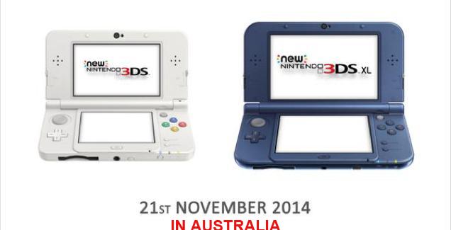 [Juegos] El Nuevo 3DS llegara a Australia este año