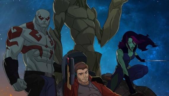 [TV/Comics] Promo de Guardianes de la Galaxia animado.