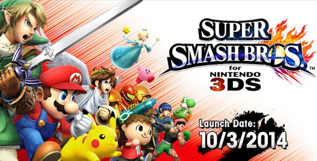 [Juegos] Trailer de lanzamiento de Smash Bros. Para 3DS
