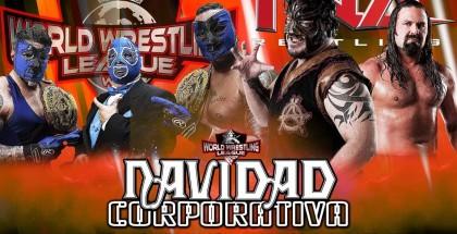 Por los Campeonatos Mundiales de Parejas de la WWL Thunder & Lightning (Campeones) con El Profe vs Los Campeones de Parejas de TNA James Storm y Abyss