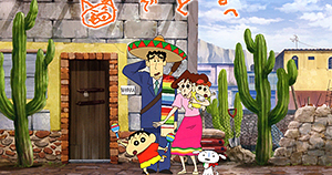 [Anime] Película de Shin-Chan tendrá aventura en México.