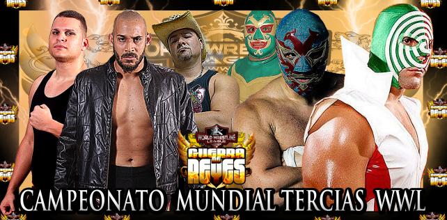 [Deportes] La Familia Máscaras de México (Dos Caras, Hijo de Dos Caras y Sicodélico Jr.) a Guerra de Reyes de la WWL