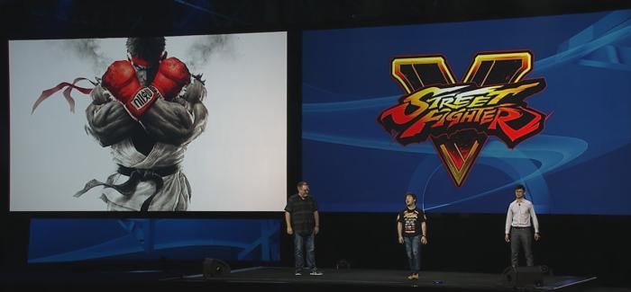 [Juegos] Revelación oficial de Street Fighter 5
