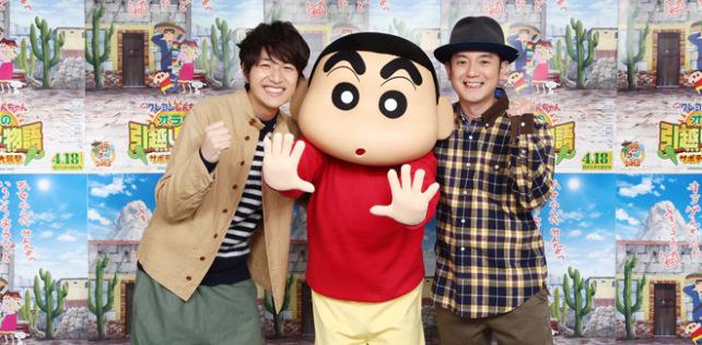[Anime] El duo musical YUZU crea ending para película de Shin Chan.