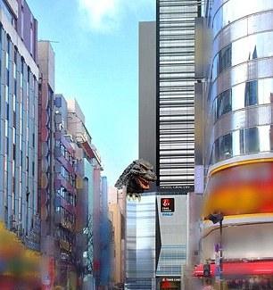 [Japonadas/¿Güat?] Godzilla estrena hotel y cinema.