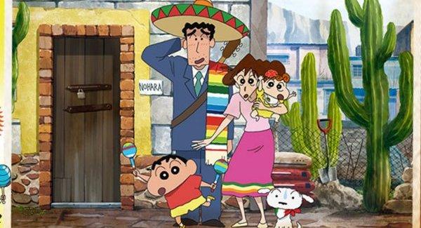 [Anime/Cine] La Nueva película de Shin-Chan viene a México!