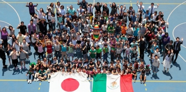 [Anime] Shin Chan es amigo de intercambio de Japón con México.