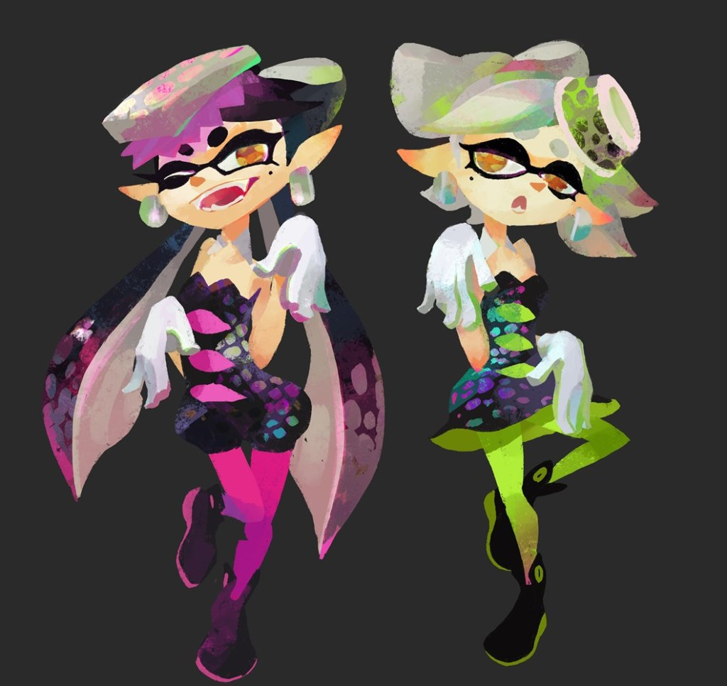 WiiU_Splatoon_050715_artwork_char_CallieandMarie