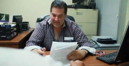 El Presidente de la WWL, Richard Negrín, junto a La Gran Firma.