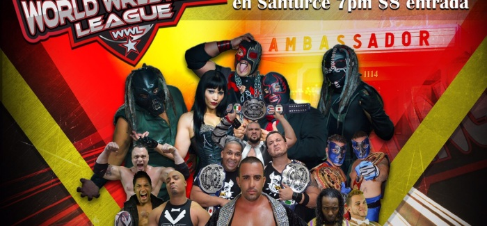 [Deportes] WWL: Regresa la  Lucha Libre al Teatro Ambassador, Donde Debutara la Gran Firma