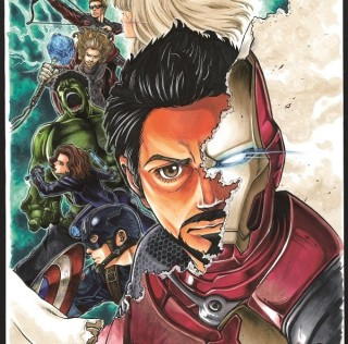 [Japonadas/Comics]Sale manga de Los Vengadores: La Éra de Ultron